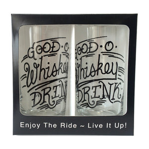 Good O Whiskey Glassware (Set of 2)