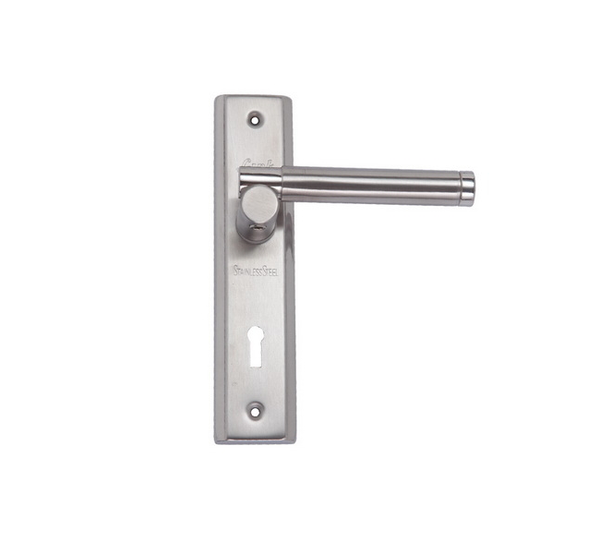 Link Locks Mortise Set Bullet Lock 6 Lever Sleek (Stainless Steel) 1008
