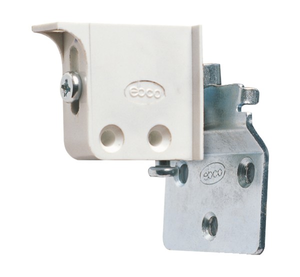 Ebco Adjustable Corner Bracket & Wall Plate(For Adjustable Corner Bracket), ACB 1 & ACB-W1 Set of 2 pcs