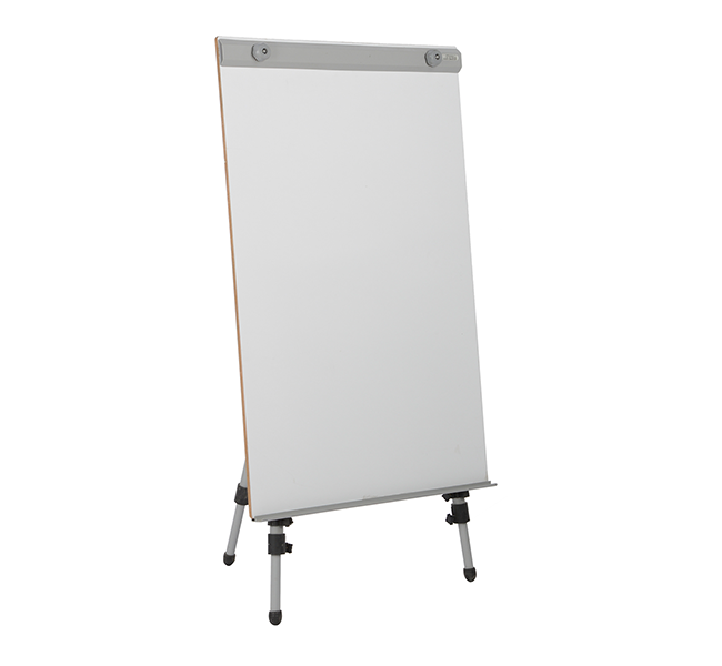 pragati systems flip chart stand with board fcs 6090. Black Bedroom Furniture Sets. Home Design Ideas