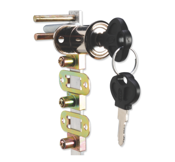 Front Multi Drawer Lock with Metal Key E-FMDL48 M , E-FMDL58 M