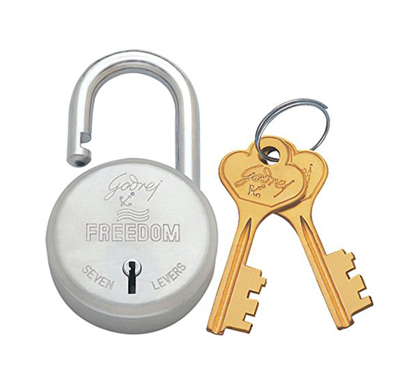 Godrej Locks Freedom 6 Levers (2 Keys)