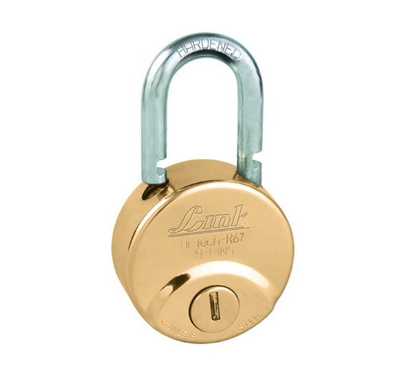 Link Locks hi-tech R-67 Brass