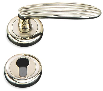 Indobrass Monarch Rose Mortise Handle Complete Set