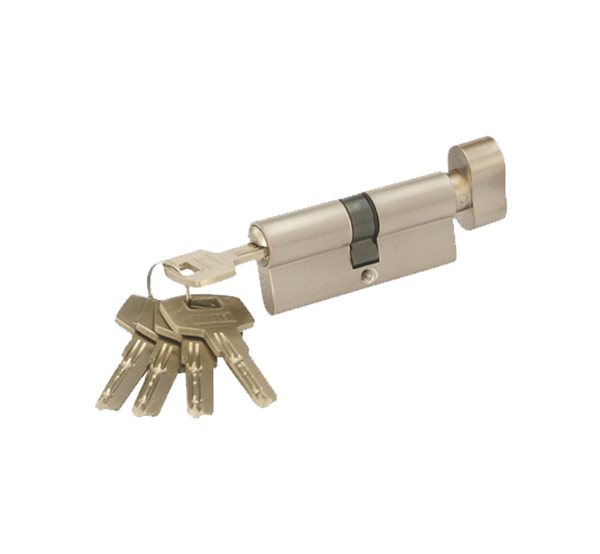 Indobrass Cylinder Lock- High Security (Ultra) Cylinders with 5-Keys
