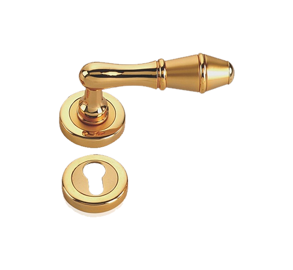 Indobrass Freedom Rose Mortise Handle Complete Set
