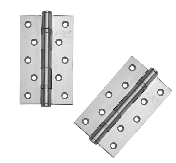 Ozone SS Butt Hinges  OZ-BH-2BB 5x3x3MM-SSS