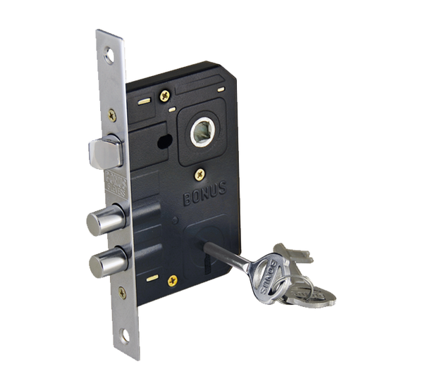 Bonus 777 Mortise Handle Complete Set with Sash Lock