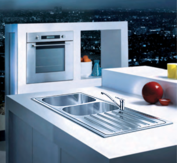 Franke ADRIAN-Microdecor/European Satin Finish Sink
