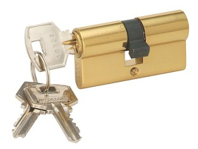 Krome Cylinder Lock with 5 ULTRA Keys - Key to Key