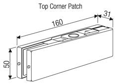 EBCO Top Corner Patch DPF1-02