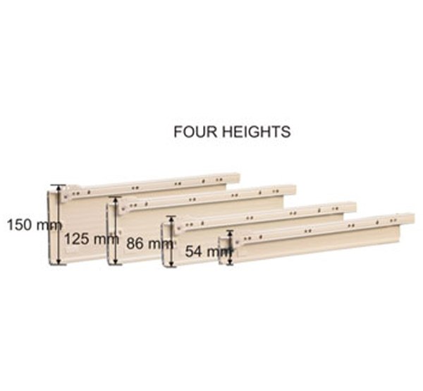 Ebco Full Panel (54mm, 86mm & 125mm) - FPDS - Set of 4 Pcs
