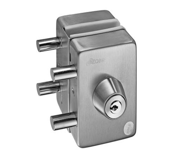 Ozone Center Patch Lock with Strike Plate OSSPL-33