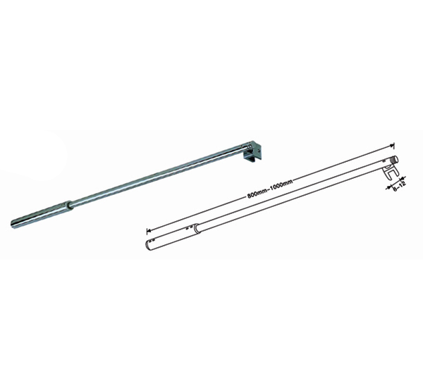 Ebco Shower Rod 32x24