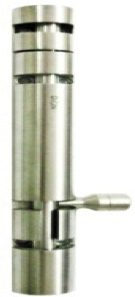 Krome Half Round Tower Bolt
