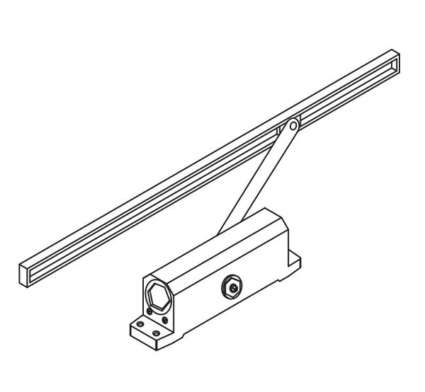DORMA DOOR CLOSER WITH SIDE CHANNEL, EN 2, XL - C 1100