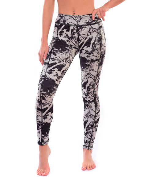Ladies reversible leggings
