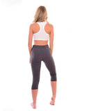 Ladies 3/4 length Capri leggings