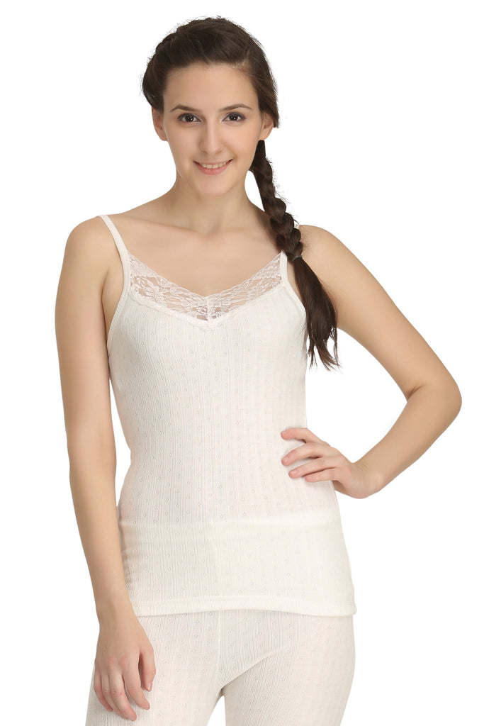 Thermal Camisole Off-white