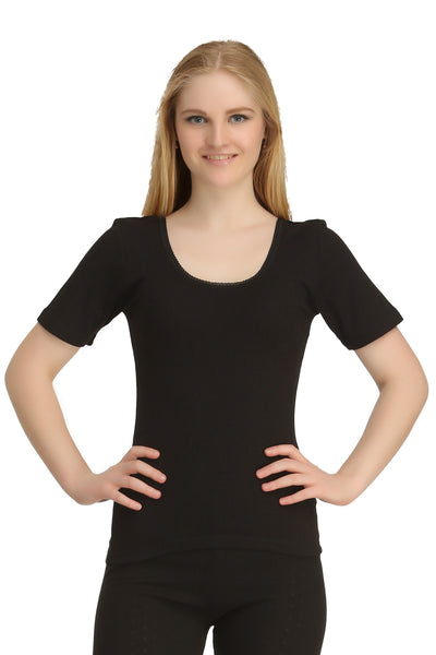 Thermal Top Short Sleeve Black