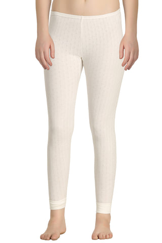 Thermal Long Pant Off-white