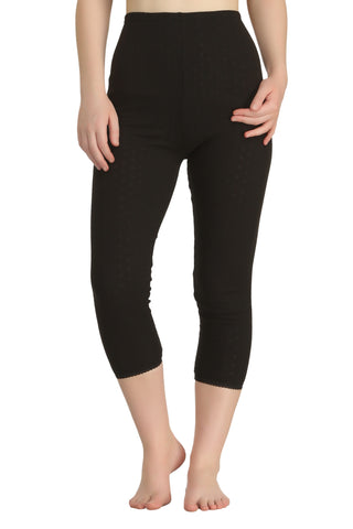 Semi-Long Pant Black