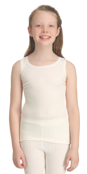Girls Sleeveless Thermal