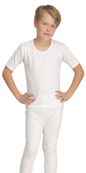 Boys Short Sleeve Thermal