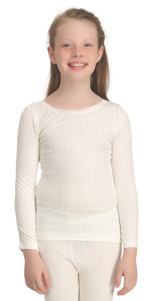 Girls Long Sleeve Thermal