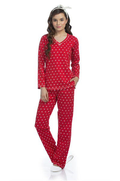 Love Hearts Pyjama Set