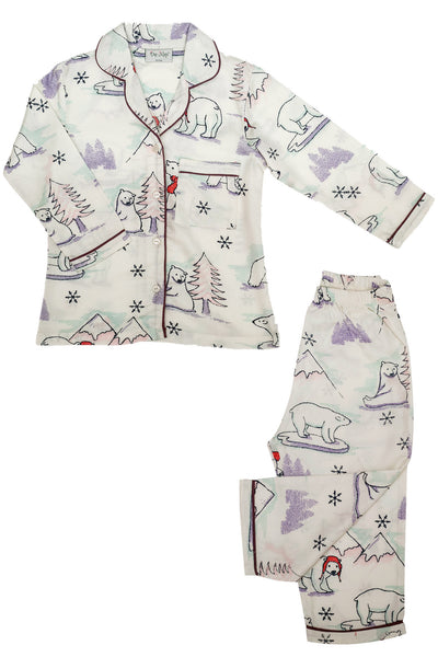 Polar Bear Pyjama Set