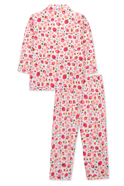 Strawberry Girl Pyjama Set