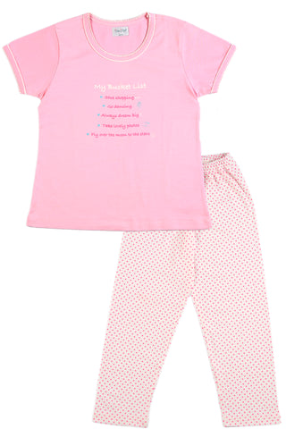 My Bucket List Pyjama Set
