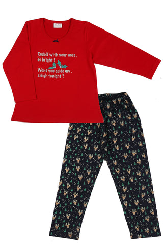 Rudolf the Reindeer Pyjama Set