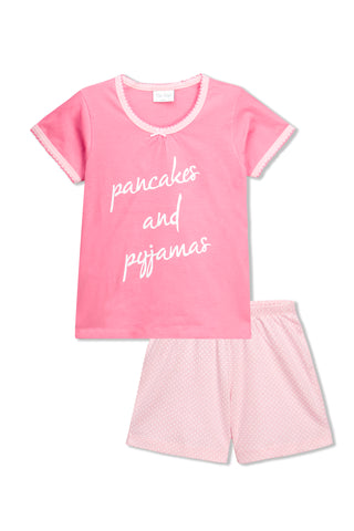 Pancakes & Pyjama Shorts Set
