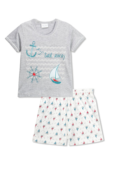 Sail Away Shorts Set