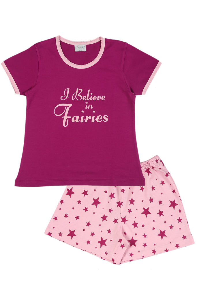 I Believe In Fairies Shorts Set