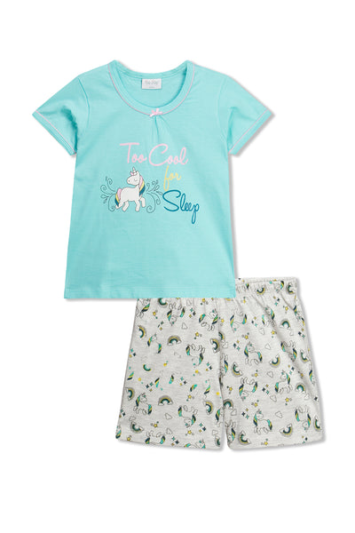 Unicorns Shorts Set