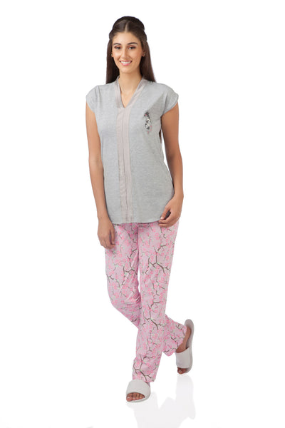 Japanese Cherry Blossom Pyjama Set