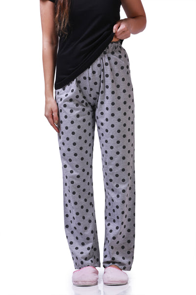 Grey Polka Dots Pyjamas