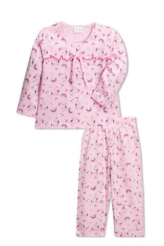 Pink Unicorns Pyjama Set