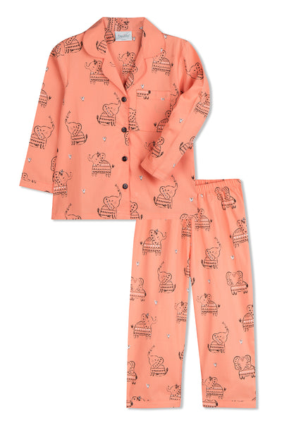 Happy Lil Elephants Pyjama Set
