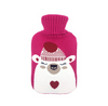 Creative Cartoon Hot Water Bottle Bag Cover Warm Knit Bag