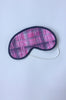 Pink Checks Eye Mask
