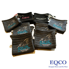 Eqco Embroidered Stirrup Bags From The Ground Up