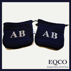 Eqco Embroidered Stirrup Bags