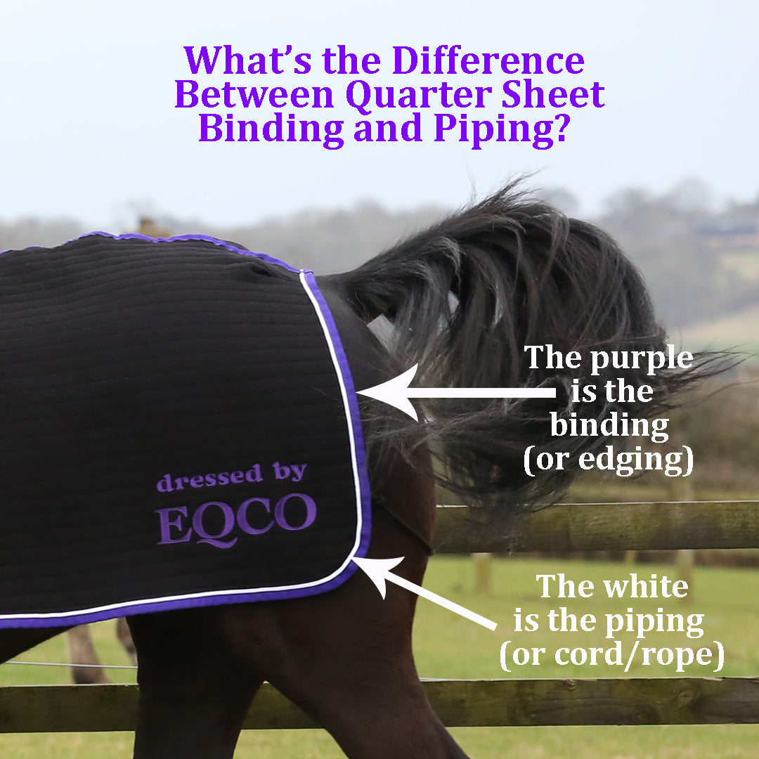 Eqco Binding Piping Difference