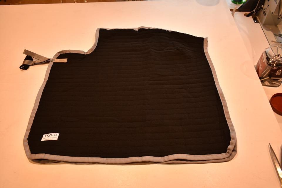 "Eqco Sale Black Quarter Sheet 33"" x 33"""