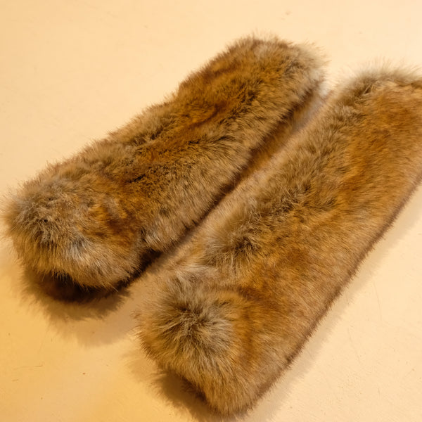 Eqco Sable Faux Fur Rein Covers