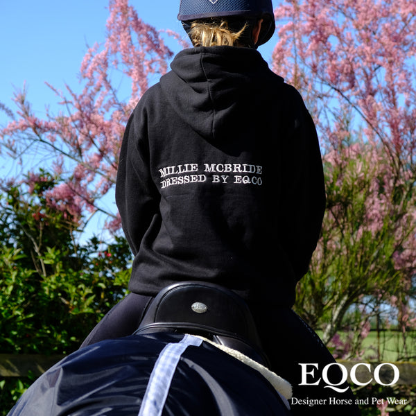 Eqco Personalised Hooded Sweatshirt Hoodie